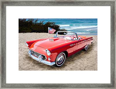 1955 Thunderbird Photograph Fine Art Prints 1246.02 Framed Print by M K  Miller