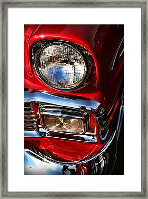 1956 Chevrolet Bel Air Framed Print by Gordon Dean II