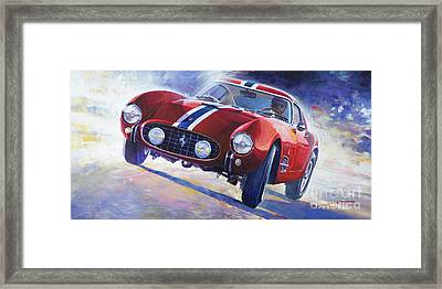 1956 Ferrari 250 Gt Berlinetta Tour De France Framed Print by Yuriy Shevchuk