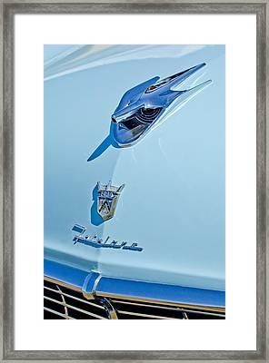 1956 Ford Fairlane Hood Ornament 3 Framed Print by Jill Reger