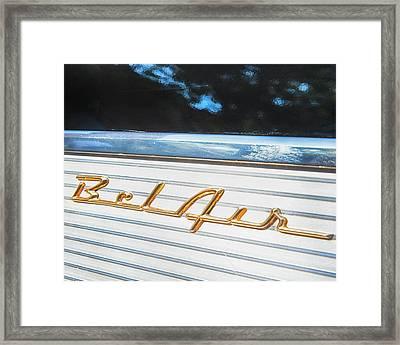 1957 Chevrolet Bel Air Framed Print by Theresa Tahara