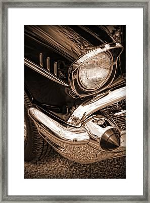 1957 Chevy Bel Air Framed Print by Gordon Dean II