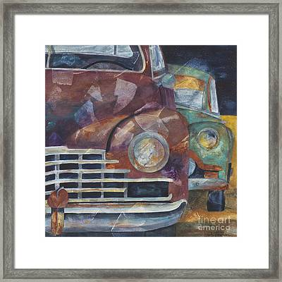 1957 Classics Framed Print by Barb Pearson