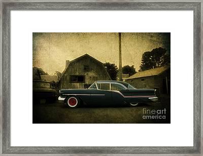 1957 Oldsmobile Framed Print by Joel Witmeyer