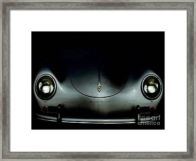 1957 Porsche Speedster  Framed Print by Steven  Digman
