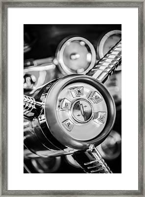 1958 Edsel Ranger Push Button Transmission 2 Framed Print by Jill Reger