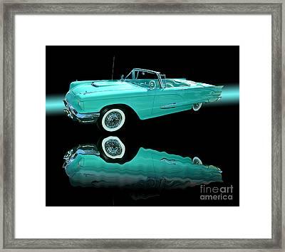 1959 Ford Thunderbird Framed Print by Jim Carrell