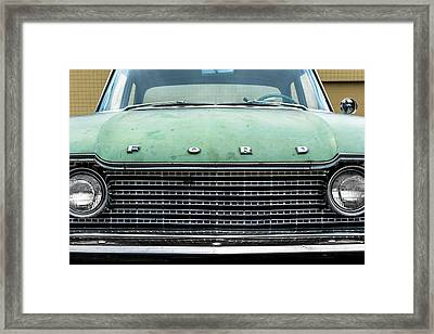 1960 Ford Fairlane Framed Print by Jim Hughes