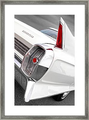 1960s Cadillac Fleetwood Framed Print by Gill Billington