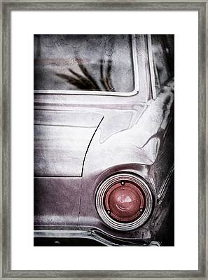1963 Ford Falcon Taillight -0566ac Framed Print by Jill Reger