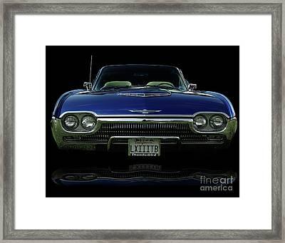 1963 Thunderbird Convertible  Framed Print by Peter Piatt