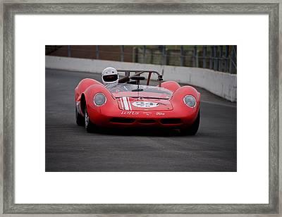1964 Lotus Type 30 Fia Racecar Framed Print by Dave Koontz