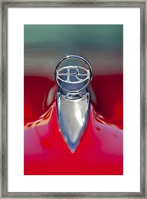 1965 Buick Riviera Hood Ornament Framed Print by Jill Reger