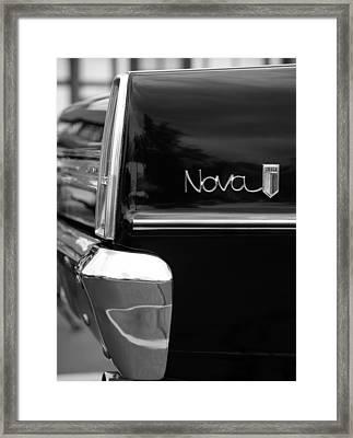 1966 Chevy Nova II Framed Print by Gordon Dean II