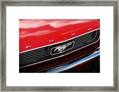 1966 Ford Mustang Framed Print by Gordon Dean II