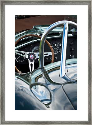 1966 Shelby 427 Cobra Framed Print by Jill Reger