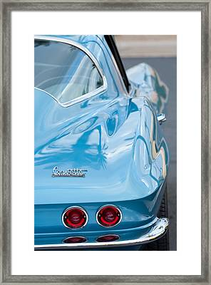 1967 Chevrolet Corvette 11 Framed Print by Jill Reger