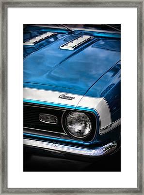 1968 Chevy Camaro Ss 396 Framed Print by Gordon Dean II