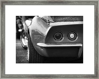 1969 Chevrolet Corvette Stingray Framed Print by Gordon Dean II