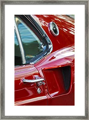 1969 Ford Mustang Mach 1 Side Scoop Framed Print by Jill Reger