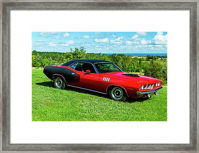 1971 Plymouth Framed Print by Performance Image