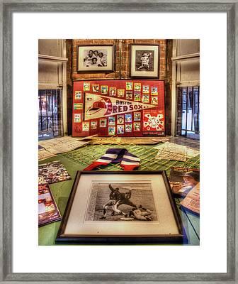 1975 Red Sox 001 Framed Print by Jeff Stallard