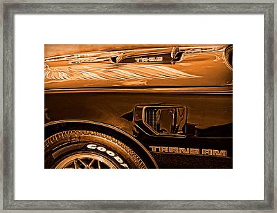 1980 Pontiac Trans Am Framed Print by Gordon Dean II