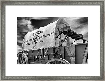 1st Cavalry Division Fort Hood Framed Print by Stephen Stookey