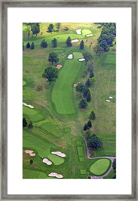 1st Hole Sunnybrook Golf Club 398 Stenton Avenue Plymouth Meeting Pa 19462 1243 Framed Print by Duncan Pearson