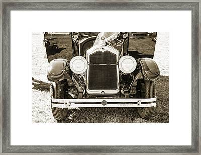 1924 Buick Duchess Antique Vintage Photograph Fine Art Prints 112 Framed Print by M K  Miller