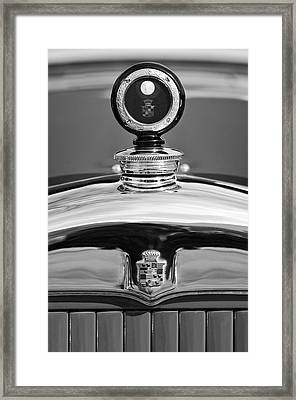 1926 Cadillac Series 314 Custom Hood Ornament Framed Print by Jill Reger