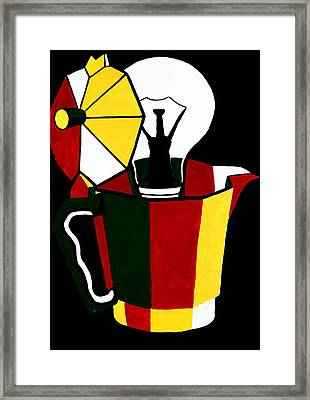 Abstract Painting By Ivailo Nikolov Framed Print by Boyan Dimitrov