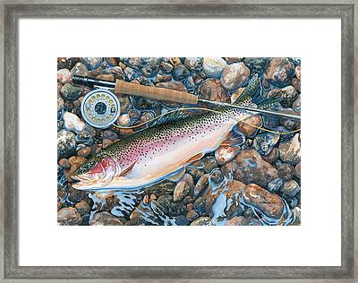 Actual Size Framed Print by Mark Jennings