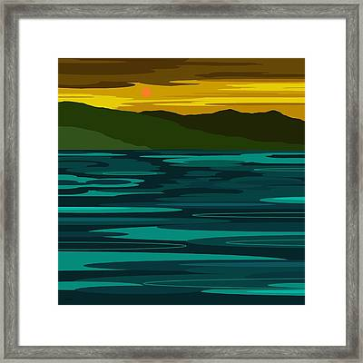 After The Storm Framed Print by Val Arie