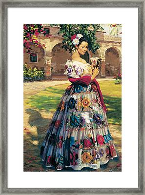 Al Aire Libre Framed Print by Jean Hildebrant