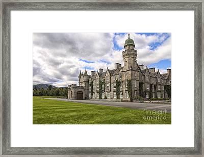Balmoral Castle Framed Print by Patricia Hofmeester
