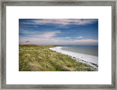 Barra Airport Framed Print by Stephen Smith