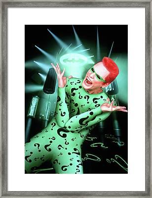 Batman Forever 1995  Framed Print by Caio Caldas