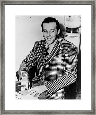 Benny Bugsy Siegel 1906-1947 Framed Print by Everett