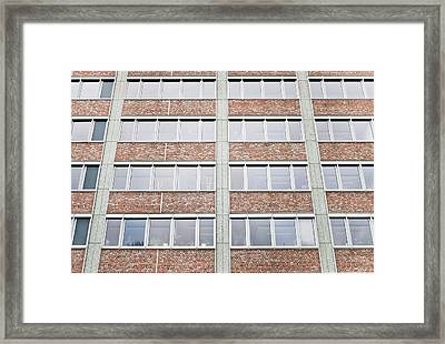 Berlin Building  Framed Print by Tom Gowanlock
