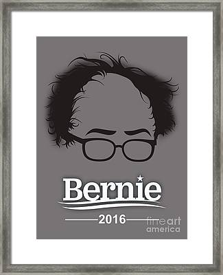 Bernie Sanders Framed Print by Marvin Blaine
