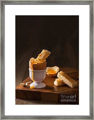Boiled Egg Framed Print by Amanda And Christopher Elwell