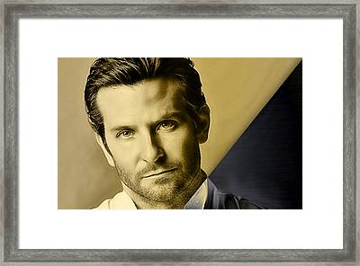 Bradley Cooper Collection Framed Print by Marvin Blaine