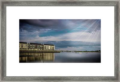 Brightlingsea Essex Framed Print by Martin Newman