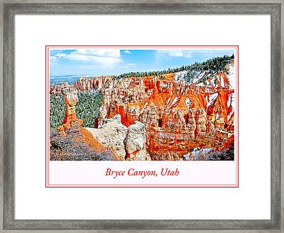 Bryce Canyon, Utah Framed Print by A Gurmankin