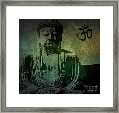 Buddha Framed Print by Mike Grubb