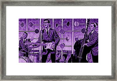 Buddy Holly And The Crickets Framed Print by Marvin Blaine