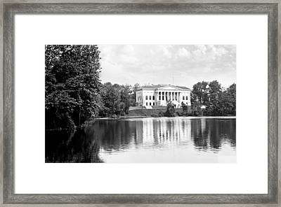 Buffalo History Museum Framed Print by Peter Chilelli