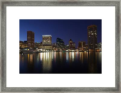 Buildings At The Waterfront, Inner Framed Print by Panoramic Images