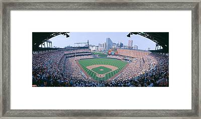 Camden Yard Stadium, Baltimore, Orioles Framed Print by Panoramic Images